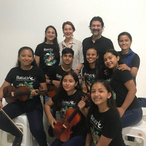 Banco de Instrumentos Musicales entrega instrumentos a Talentos Batuta en Puerto Asís