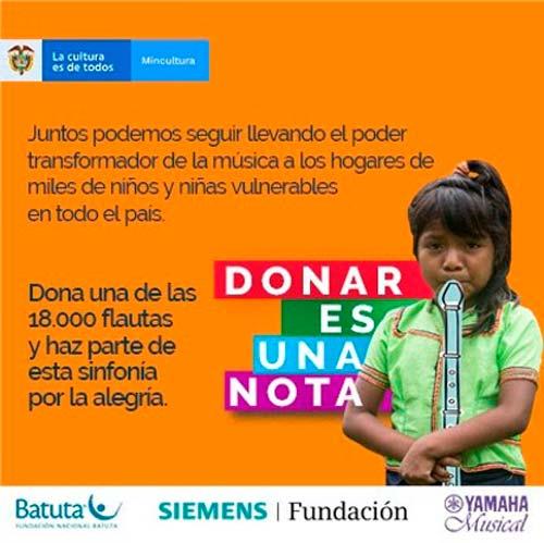 Donar es una Nota – 2020